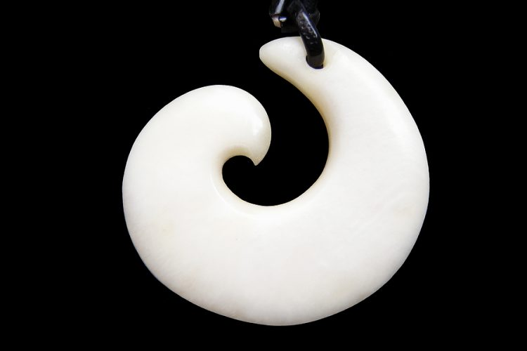 Koru necklace from New Zealand