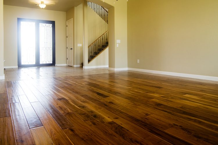 Timber floor in a Sydney home