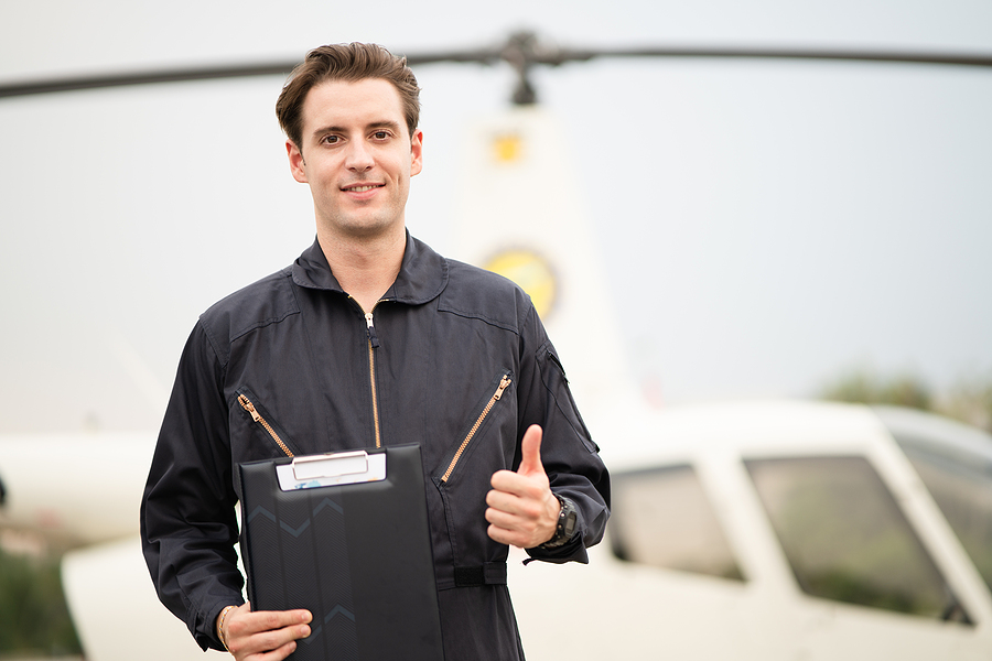 Man enrolled to helicopter pilot training